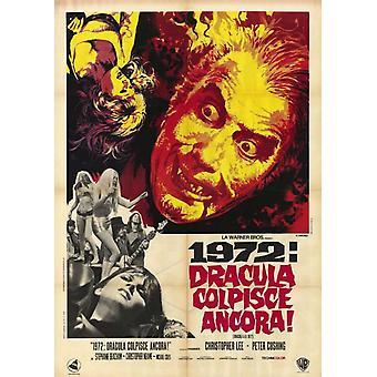 Affiche du film Dracula AD 1972 (11 x 17)