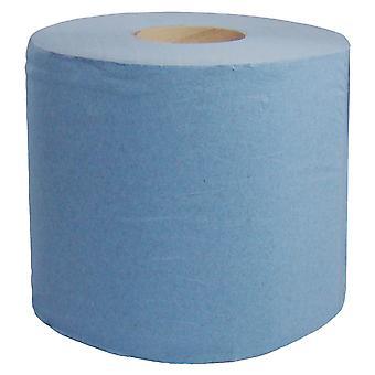 المواد الغذائية الأساسية 2 رقائق سينتريفيد الأزرق لفات 180 مترا × 200 مم