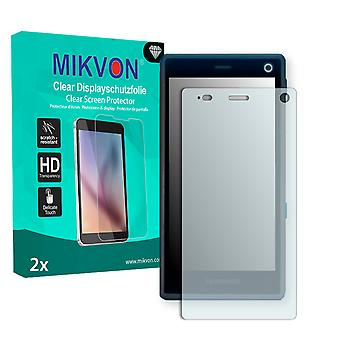 Fairphone 2 Screen Protector - Mikvon Clear (Retail Package with accessories)