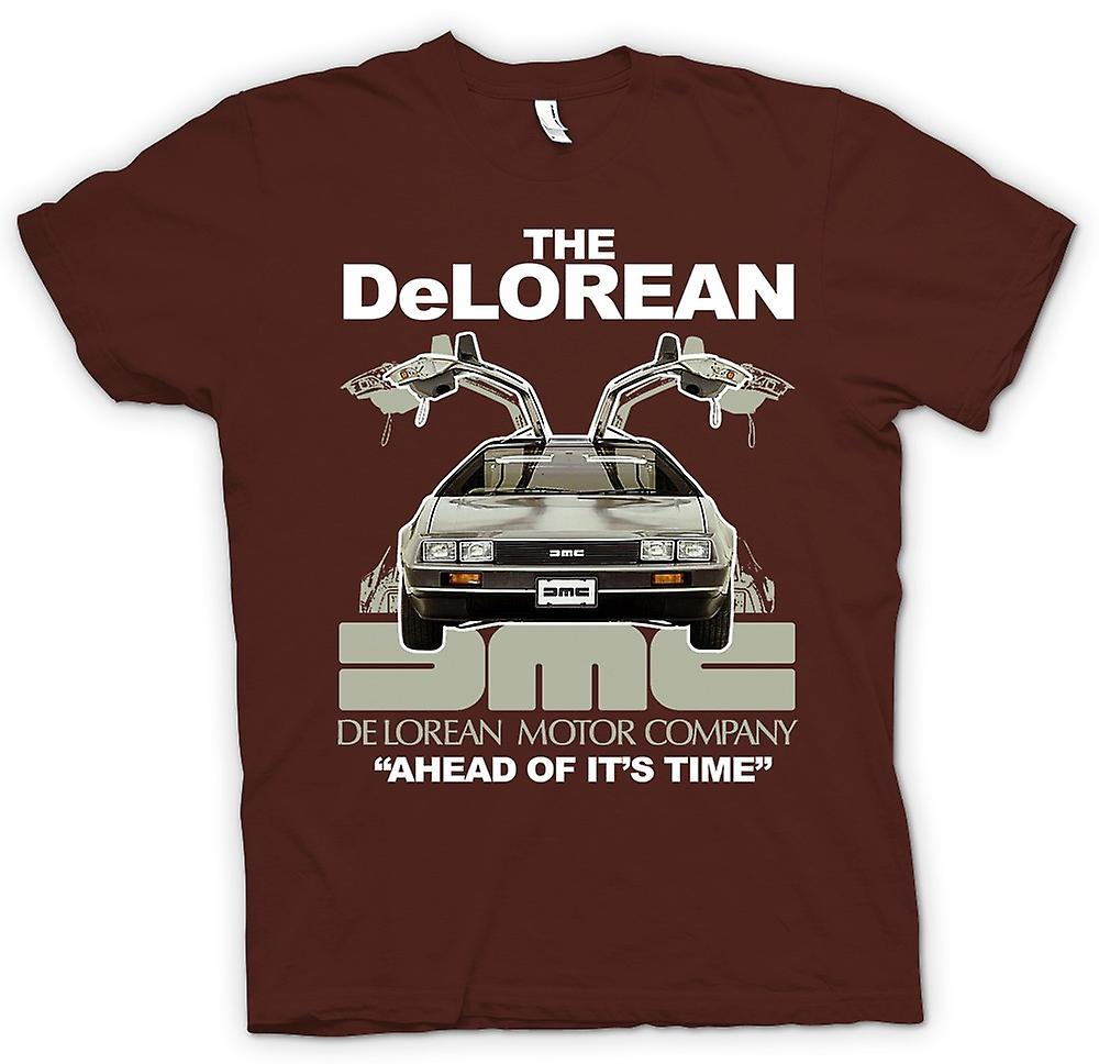 Mens t-shirt - DeLorean - prima del suo tempo
