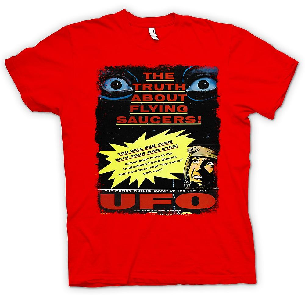 Mens T-shirt - Truth About Flying Saucers Kids