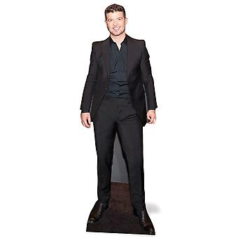 Robin Thicke Lifesize papp åpning / Standee