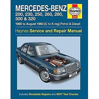Mercedes-Benz 124 Series Service and Repair Manual (Haynes Service and Repair Manuals)