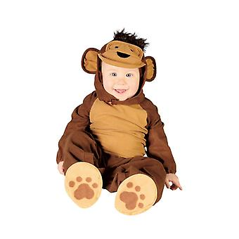 Toddlers Monkey Chimp Fancy Dress Costume