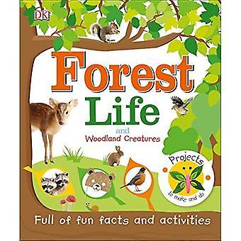 Vie de la forêt et les créatures boisées