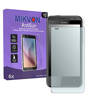 HTC Z3 Screen Protector - Mikvon AntiSun (Retail Package with accessories)