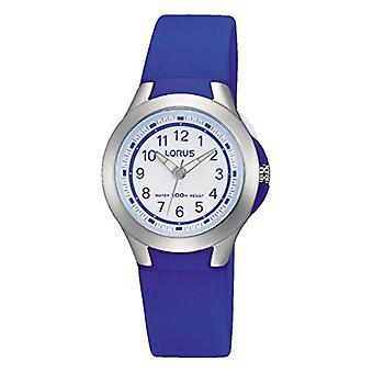 Lorus Quartz analogue watch Unisex Silicone wrist watch R2399JX9