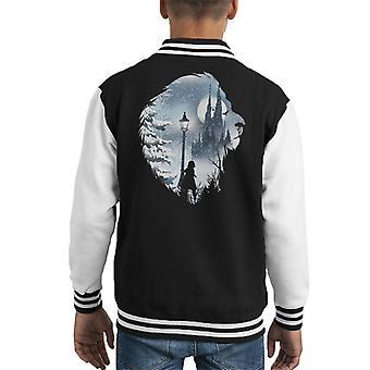 Spel van tronen Winter Is Coming Lion Kid's Varsity Jacket