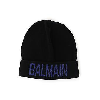 Balmain Black Wool Hat