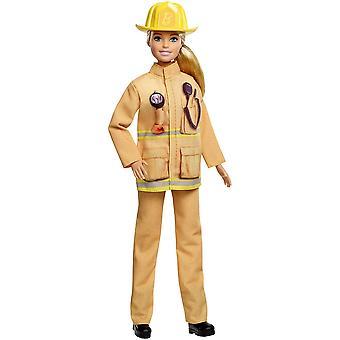 バービー GFX29 経歴60人形、私は消防士することができます