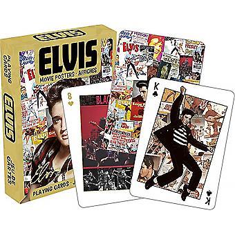 Conjunto de carteles de cine Elvis Presley de 52 tarjetas que juegan (nm)