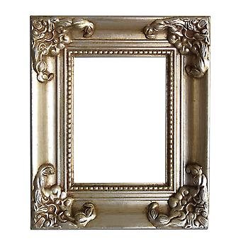 10x18 cm eller 4x7 tum, fotoram i silver