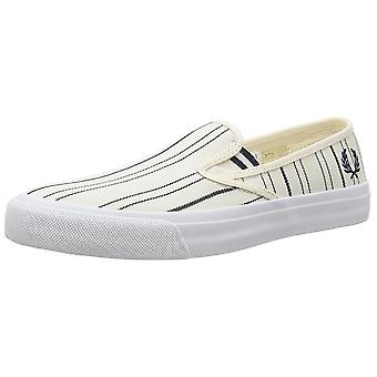 Fred Perry Turner Slip on Retro Stripe Men's Trainers B8252-560