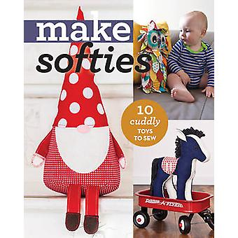 Make Softies - 10 Cuddly Toys to Sew - 9781617453861 Book