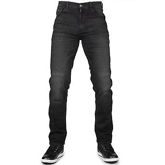 Bull-It Black Covert SP120 Straight - Short Motorcycle Jeans
