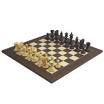 The Kingsgate Rosewood Palisander Chess Set