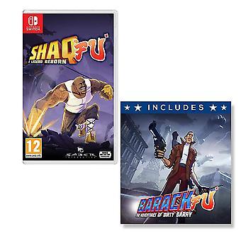 Shaq Fu A Legend Reborn Nintendo Switch Game