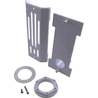 Balboa 31990 Spa Strip Skimmer with Straight Nut - White