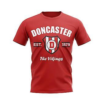 Doncaster Established Football T-Shirt (Red)