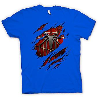 Kids T-shirt - Spiderman Under Shirt Effect - Action Superhero