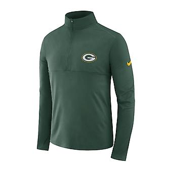 Nike Nfl Green Bay Packers Metà zip Core Dri-fit Top