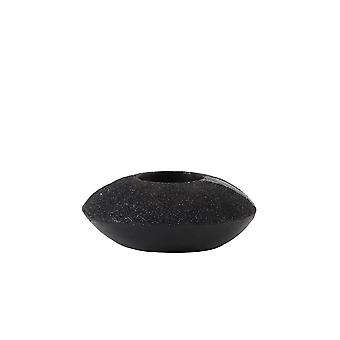 Light & Living Tealight Ø11,5x4,5 Cm GLAM Black Glitter