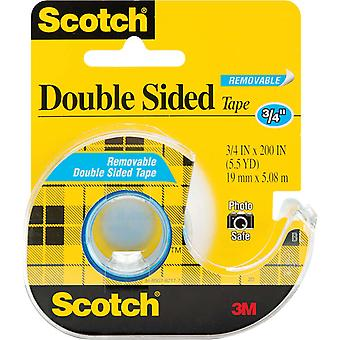 Scotch Removable Double Sided Tape .75