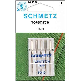 Topstitch Machine Needle Size 12 80 5 Pkg 1792