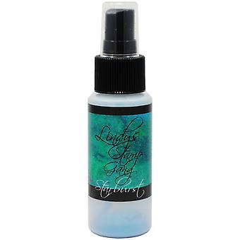 Timbre Gang Starburst Spray 2Oz bouteille tibétain pavot bleu sarcelle Sbs de Lindy 5