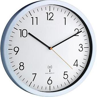 Radio Wall clock TFA 60.3517.55 30.5 cm x 4.5 cm Aluminium (brushed)
