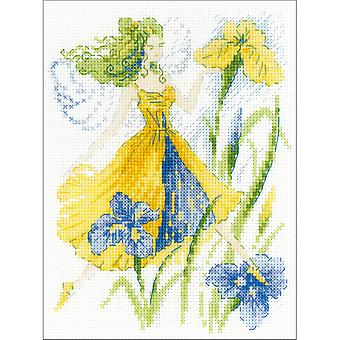 Sunny Day Fairy Counted Cross Stitch Kit-6