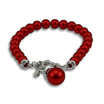 Venus red bead bracelet