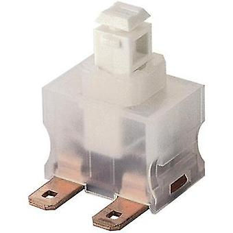 Pushbutton switch 250 Vac 12 A 1 x On/Off Marquardt 1681.3101 IP40 latch 1 pc(s)