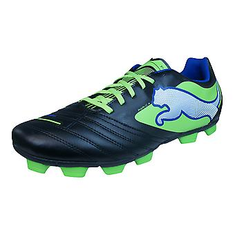 Puma PowerCat 4 R HG Mens Football Boots / Cleats - Black