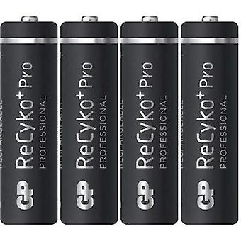 AA battery (rechargeable) NiMH GP Batteries Recyko+ HR06 2000 mAh 1.2 V 4 pc(s)