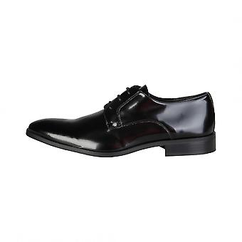 Made in Italy shoes Black FLORENT_VERNICE Man