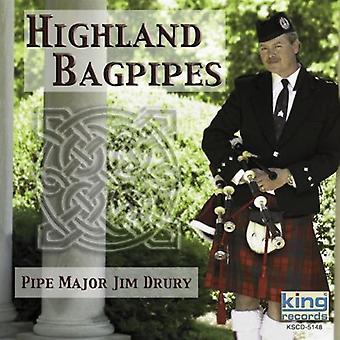 Jim Drury - Highland sekkepiper [DVD] USA import