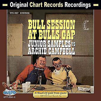Junior prøver vs Archie Campbell - Bull Session på Bull's Gap [CD] USA import