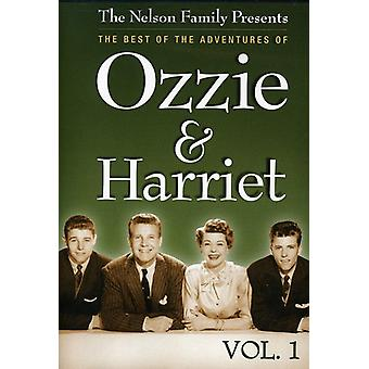 Ozzie & Harriet: Vol. 1-am besten von den Abenteuern des [DVD] USA importieren