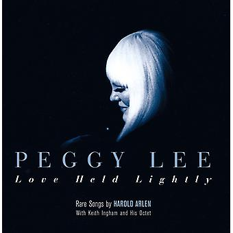 Peggy Lee - Love Held Lightly [CD] USA import