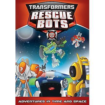Transformatoren-Rescue-Bots: Abenteuer & Timespace [DVD] USA import