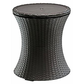Keter Pacific rattan cool bar brown anthracite