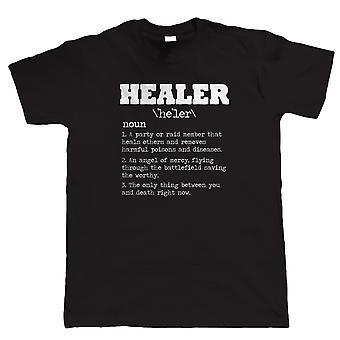 Uzdrowiciel, Mens Funny T-Shirt Gamer
