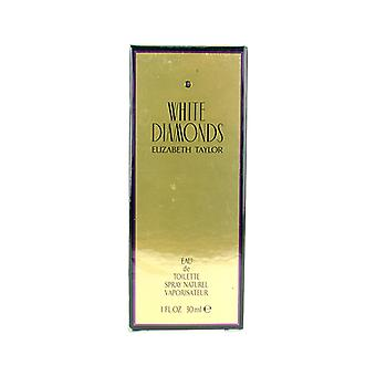 Elizabeth Taylor, White Diamonds Eau De Toilette Spray 30ml / 1oz