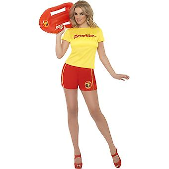 Baywatch costume ladies Beach girl 2-piece original