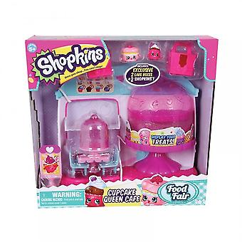 Flair Shopkins Cupcake Queen Cafe Playset
