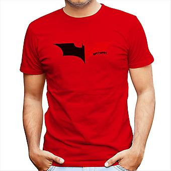 Na Na Batman Dark Knight Bat Logo sort mænd T-Shirt
