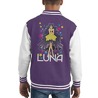 Luna Human Sailor Moon Kid's Varsity Jacket