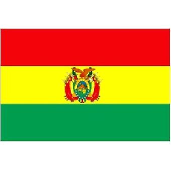 Bolivian Flag 5ft x 3ft With Eyelets For Hanging