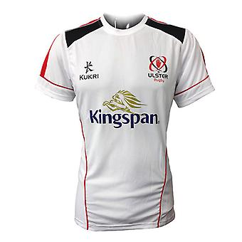 Junior performance de KUKRI ulster rugby t-shirt [blanc]